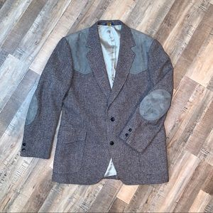 Pendleton Western Blazer with Suede Accents MENS
